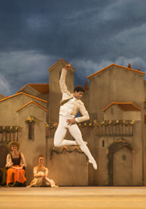 Carlos Acosta as Basilio photo by Johan Persson.