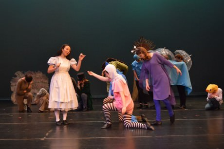 The cast of 'Alice in Wonderland.' Photo by  Larry McClemons.