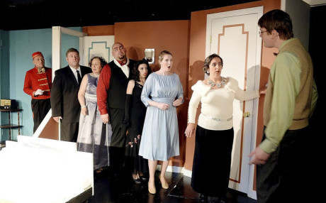 The cast of 'Lend Me a Tenor.' Photo by Ric Dugan/Herald-Mill Media.