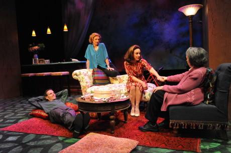 Paul Morella, Lise Bruneau, Susan Rome, and Barbara Rappaport. Photo by Stan Barouh.