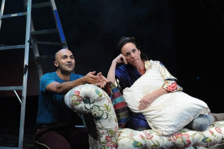 Maboud Ebrahimzadeh and Susan Rome. Photo by Stan Barouh.