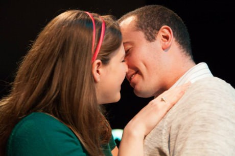 Kendall Helblig (Marie) and Matt Sparacino (George). Photo by Daniel Corey.