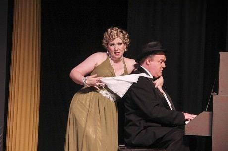 Janette Moman and Chris Gillespie. Photo by Matt Liptak.