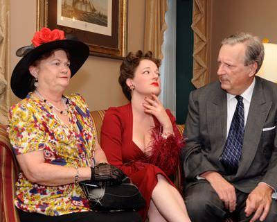 Carol Conley Evans, Anne Shoemaker, and Bill Bossemeyer. Photo by Tom Lauer.