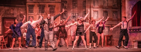 The Ensemble of 'Kiss Me Kate.' Photo by Nate Jackson Photography.