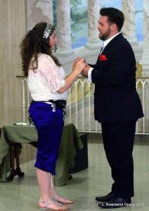 Melissa Chavez and Dane Suarez. Photo courtesy of Riverbend Opera Company.