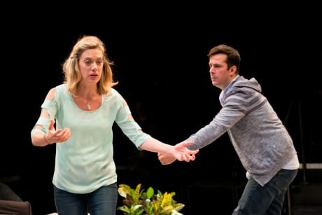Chris Thorn as Max and Brenna Palughi as Whitney. Photo by Seth Freeman.