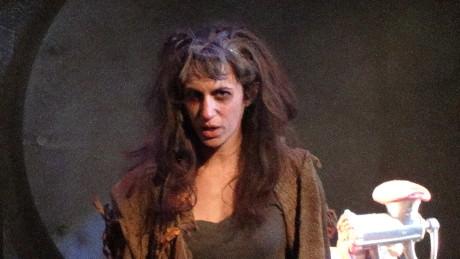 Shaina Kuhn (Beggar Woman). Photo courtesy of Tom Ngo.