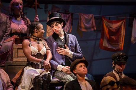 Felicia Curry as Nancy and Jake Foster as The Artful Dodger. Photo by Mike Horan.