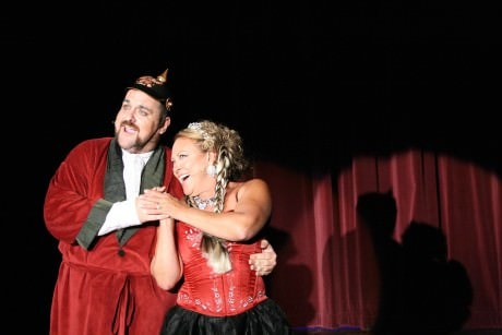 Joey Olson (Baron) and Cat Arnold (Baroness). Photo by Maggie Swan.