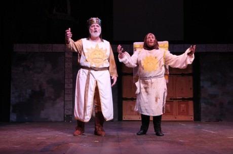 Michael J. Margelos (Patsy), and  King Arthur (Jimmy Payne).
