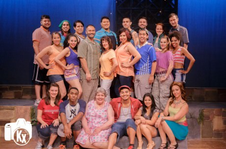 The cast of LTA's 'In the Heights.' Photo by Keith Waters.