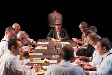 The Cast of 'Twelve Angry Men.' Photo by Johannes Markus.