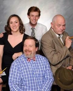 Thom Sinn, Fiona Ford, David Shoemaker, Jeff Murray. Photo by Tom Lauer.