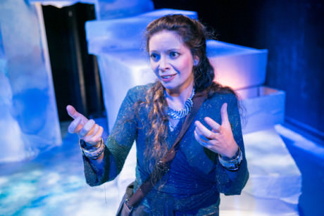Valerie Fenton stars as Charlie in Leto Legend, presented by the hub theatre. Photo by C. Stanley Photography.