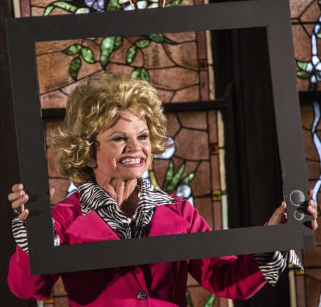 Shelley Delaney (Tammy Faye). Photo by  Daniel R. Winters.