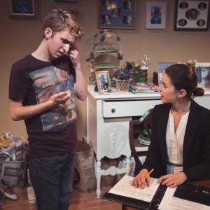 Noah Chiet and Liz Osborn. Photo by Ian Armstrong.