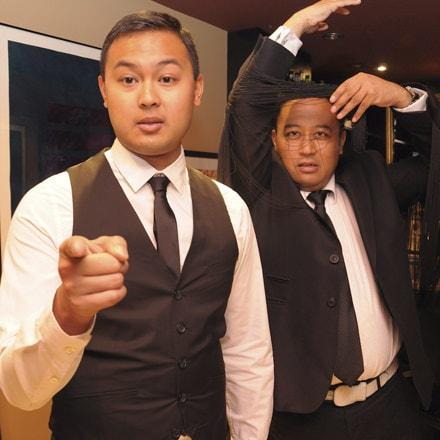 La-Ti-Do Co-founders and Hosts (L to R) Don Michael Mendoza and Regi Cabico.