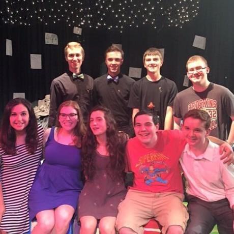 The 'Dani Girl' team. Photo courtesy of Ashton Schaffer.