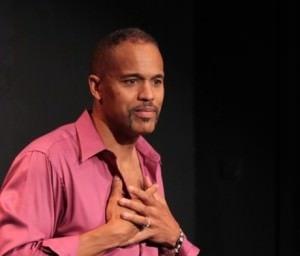 Keith Hamilton Cobb in 'American Moor.' Photo courtesy of American Theatre.