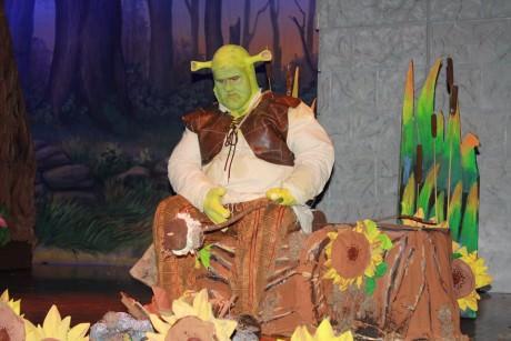 Tom Zepp as Shrek. Phoot courtesy of Glyndon Area  Players.