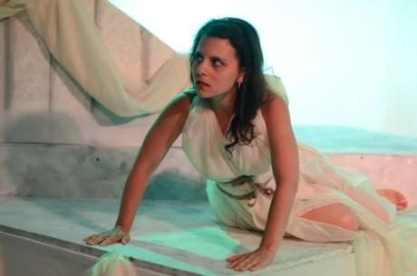Ren Pepitone as Cassandra. Photo by Britt Olsen-Ecker Photography.