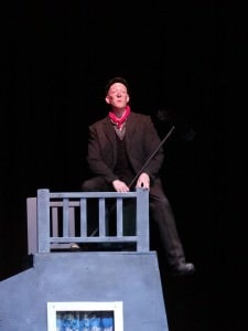 Eric Stein as Bert. Photo by Patrick Mason.