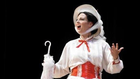 Katie Sheldon as Mary Poppins. Photo by Patrick Mason.