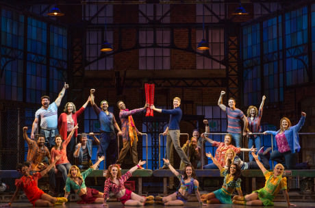 The Company of the 'Kinky Boots' Tour. Photo by Matthew Murphy.