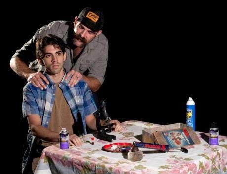 Matthew Marcus and Aaron Tone. Photo courtesy of SeeNoSun Onstage.