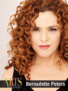 Bernadette Peters. Photo courtesy of George Mason University.