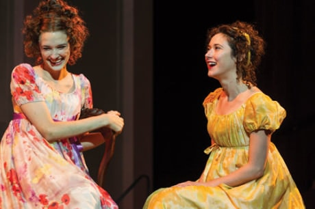 L to R: Erin Neufer and Kate Abbruzzese. Photo by Richard Anderson.
