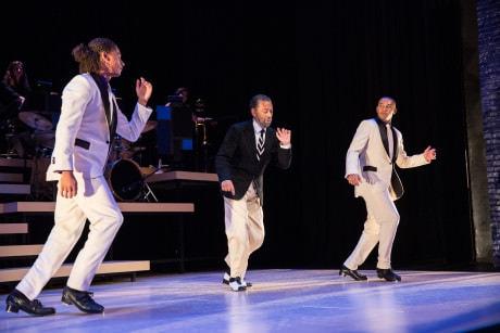 Leo Manzari, Maurice Hines, and John Manzari. Photo by Matt Urban, Mobius New Media.
