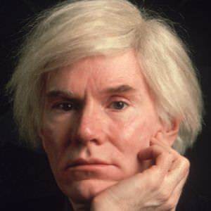 Andy Warhol. Photo courtesy of Biography.com.