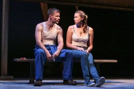 Josiah Bania (Maks) and Alexandra Henrikson (Darja). Photo by Cheyenne Michaels.