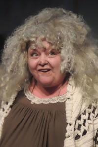 Pam Neely (Grandma). Photo courtesy of Way Off Broadway.