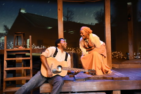 Anthony Manough and Cynthia D. Barker from the Atlanta production at Horizon Theatre. Manough and Barker are reprising their roles at MetroStage beginning Sept 17, 2015.