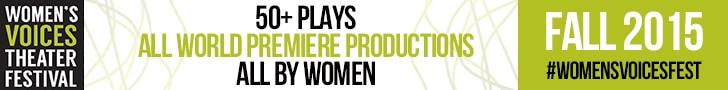 women's voices theater festival banner 728x90