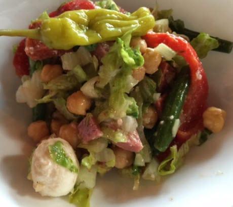 Antipasto Chopped Salad at Blackwall Hitch.