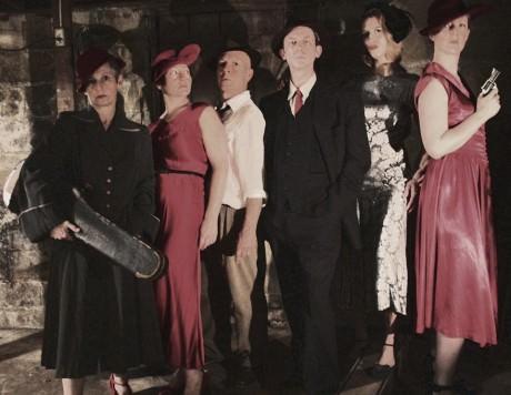 The cast of 'Cabaret Noir.' Photo by Margaret Hart Photography.
