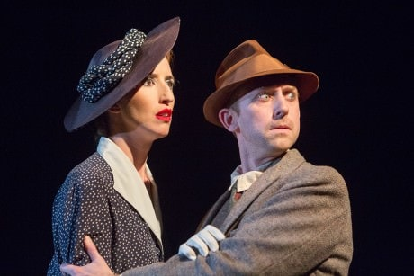 Sarah Olmsted Thomas and Alex Vernon. Photo courtesy of Happenstance Theater.