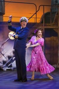 John Bolton (The Captain) and Lesli Margherita (Mona Kent). Photo by Jeremy Daniel.
