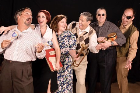 The cast of 'Side Man.' Photo courtesy of The Colonial Players.