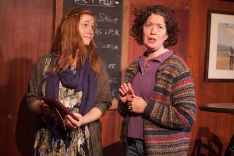 Rachel Brodeur and Corinna Burns. Photo by Katie Reing.