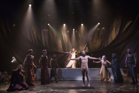 The cast of Yaël Farber's 'Salomé' at the Shakespeare Theatre Company. Photo by Scott Suchman.