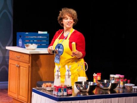 "Sherri L. Edelen in ""Cake Off."" Photo by Margot Schulman."