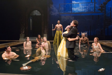 The Ensemble of Arden Theatre Company's 'Metamorphoses.' Photo by Mark Garvin.