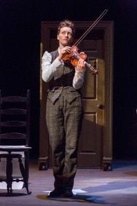 Loren O'Dair (Sherlock Holmes). Photo courtesy of Aquila Theatre.