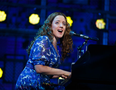 Abby Mueller (Carole King). Photo by Joan Marcus.