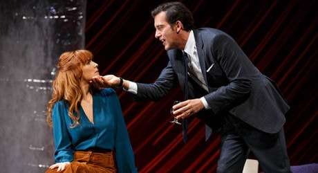 Kelly Reilly and Clive Owen. Photo by Joan Marcus.